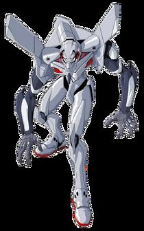 Evangelion Unit-04 transparent