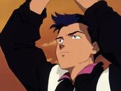 Toji jugando al baloncesto EP17