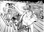 Asuka en el Manga de Evangelion