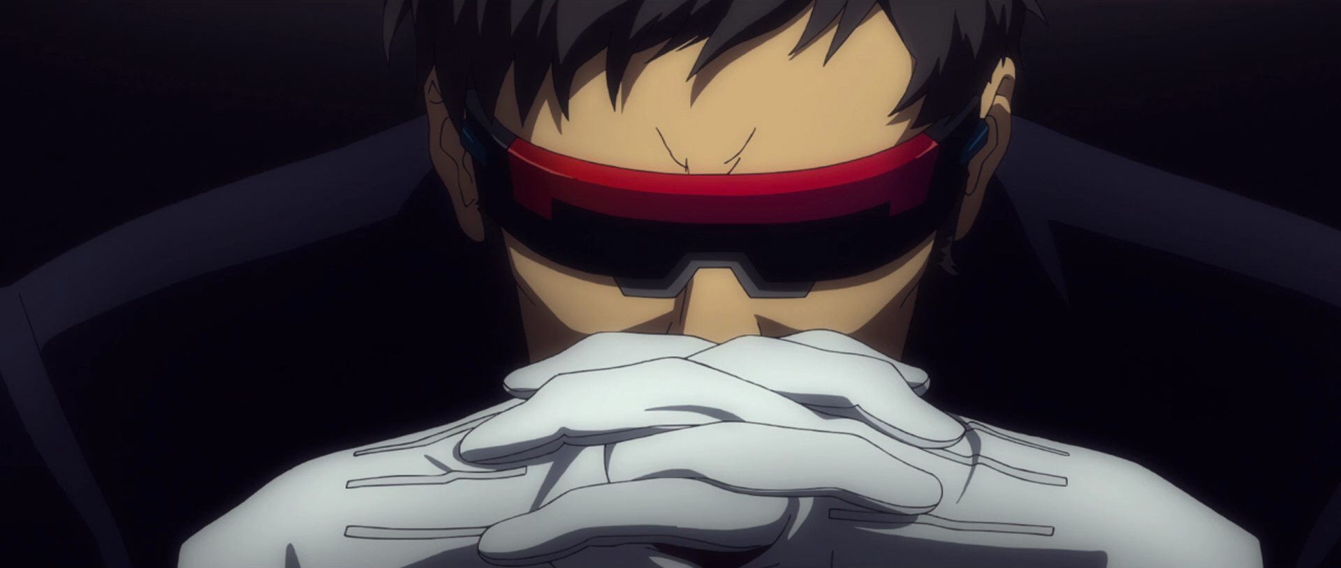Gendo Ikari after 14 years (Rebuild)