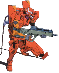 FileEvangelion Unit 02 With Rifle