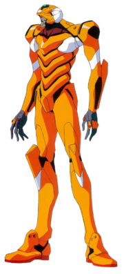 Evangelion Unit-00 Prototype front