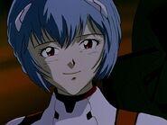 Episodio 6 sonrisa de Rei Ayanami