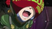 Mari fighting 3rd (Rebuild)