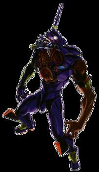 Evangelion Unidad 01 (estado Berserk)