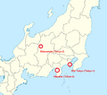 Tokyo cities on real-world Japan.png