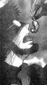 Gendo swallows Adam (manga).png