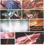 Asuka und Mari retten Shinji