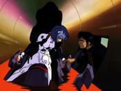 Gendo y Rei EP05