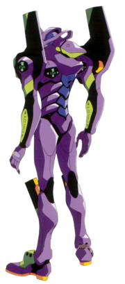 Evangelion Unit-01 back