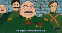 Laputa General Muoro Losing Command