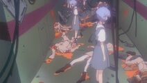 Apariciones fantasmales de Ayanami