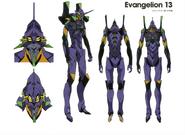 Evangelion Unidad 13 Artbook 01