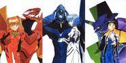 Neon-genesis-evangelion REI-ikari-shinji-asuka