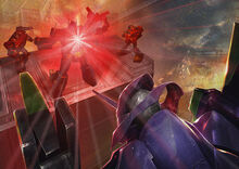 Optimus Prime scanning Eva-1
