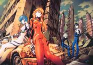 Shinji Rei Asuka Kaworu Plug Suit Volumen 10