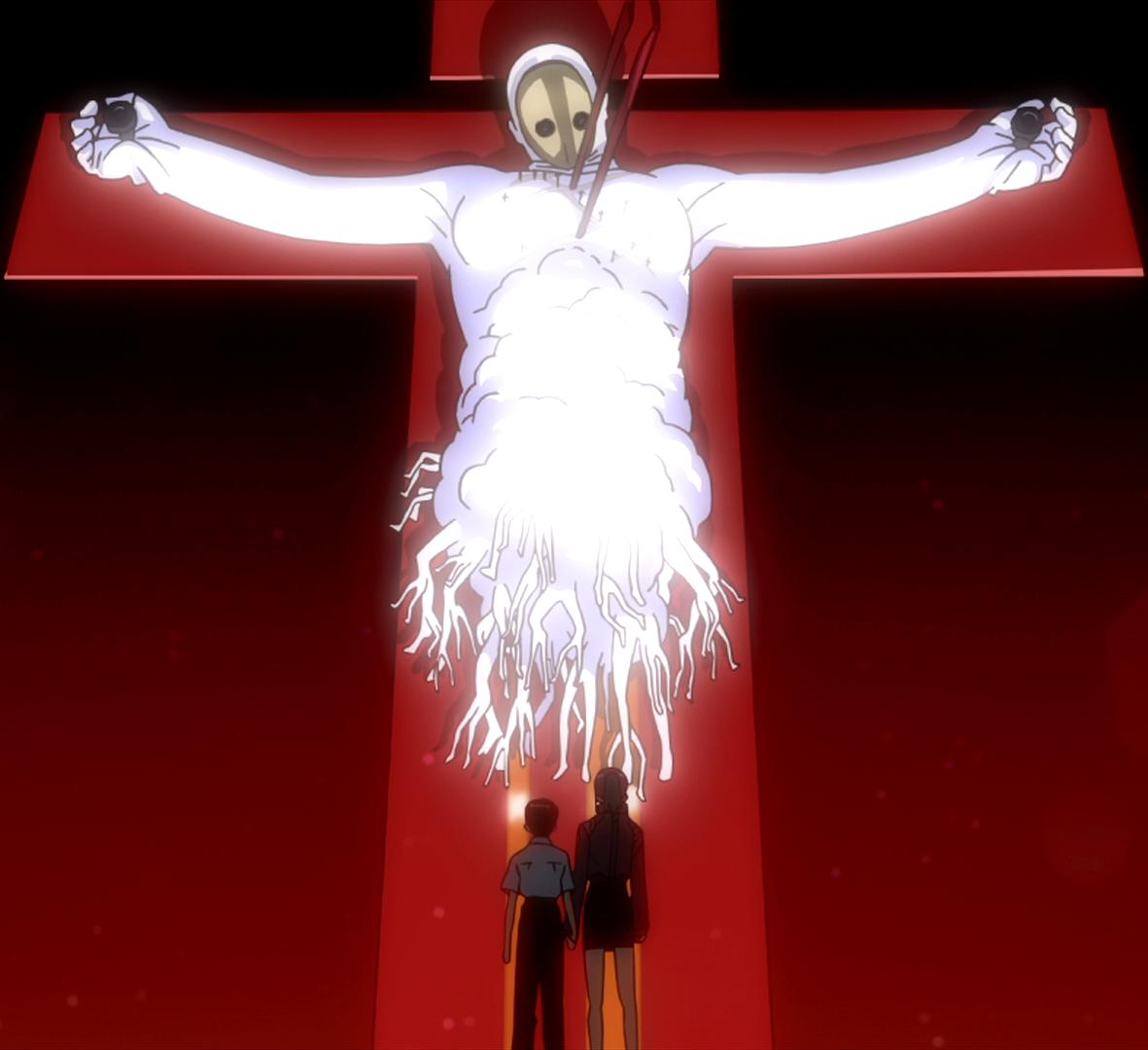 Resultado de imagen para evangelion cross