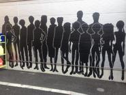 Rebuild of Evangelion 3.0 wall mural