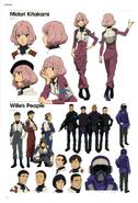 Midori Kitakami and new characters