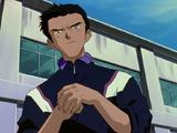 Toji enojado con Shinji