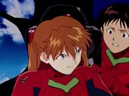 NGE 08 Asuka y Shinji