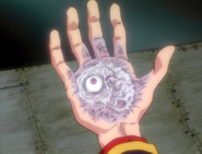 Adam on Gendo's Hand