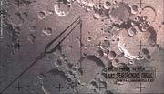 Evangelion-Lanze des Longinus auf Mond