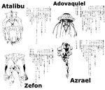 Angel RPG Ataribu Adovakieru Zefon y Azrael