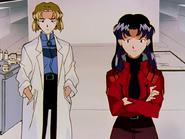 Episodio 16 Ritsuko y Misato