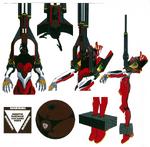 EVA-02 núcleo retirado (Rebuild)