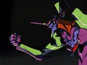 EVA 01 agarra a Kaworu EP24