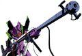 Eva01 con rifle positrones