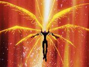 Eva extiende sus alas