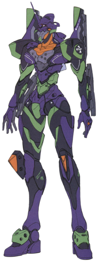 Evangelion Unit-01 Stage 2 Specification