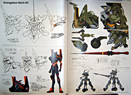 Evangelion Mark.06 and Unit-05 Artwork 01
