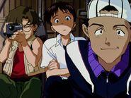 Toji de viaje con sus amigos