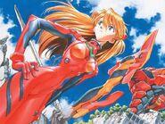 Asuka and Unit-02
