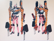 Evangelion Unit-08B ICC - Concept Art 2