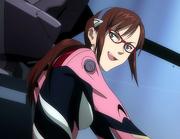Mari piloting Unit-02