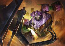 "Transformers x Evangelion- Transformers mode ""EVA"" Chapter 3 cover"