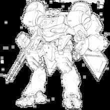 Strategic Defense Force Integrated Mechanic Soldier Type-4 Akashima