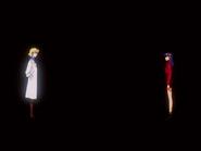 Misato y Ritsuko durante el Proyecto de Complementación
