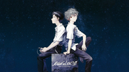 Evangelion 3.0 Shinji and Kaworu