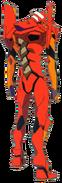 Evangelion Unit-02 back