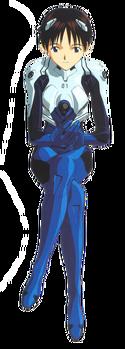 Shinji Ikari (Plugsuit)