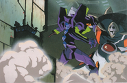 Evangelion Unit 01 vs Zeruel (NGE)