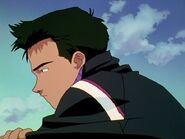 Toji pensando Neon Genesis Evangelion