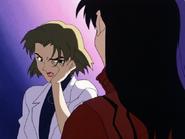 Ritsuko slapped