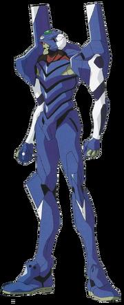 Evangelion Unit-00' Prototype front