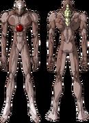 Evangelion Unidad 01 sin armadura